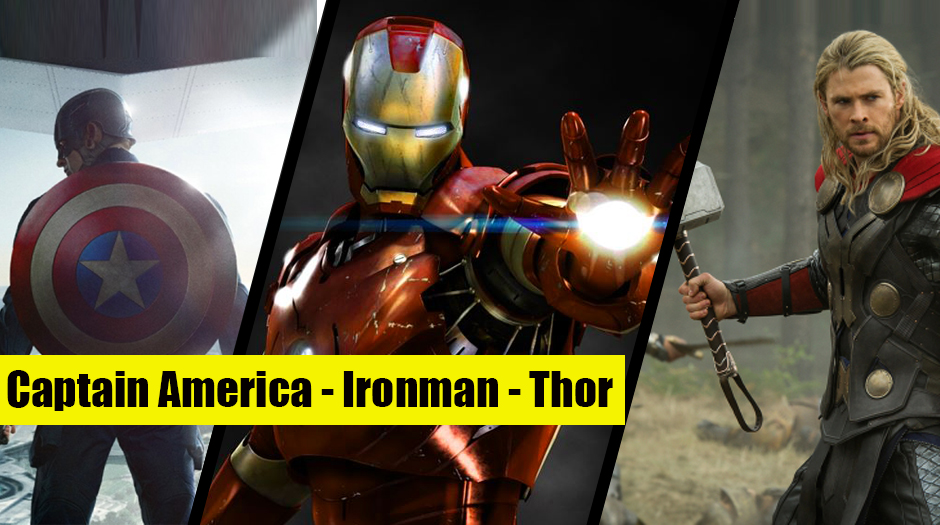 Who Should Lead Justice League and The Avengers – Iron Man, Thor or Captain America?