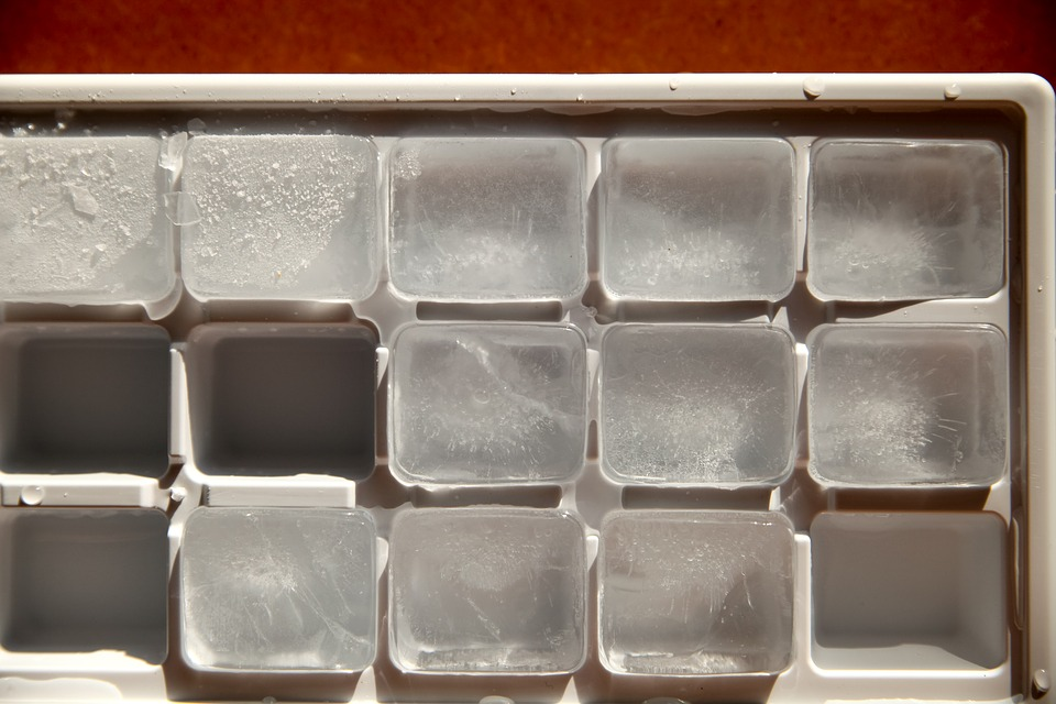 Water Frozen Freezer Ice Fridge Cold