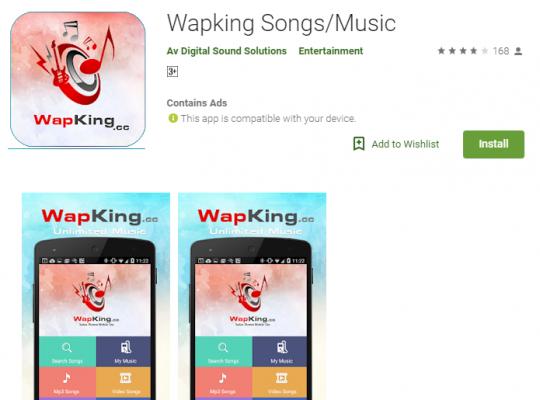 wapking songs