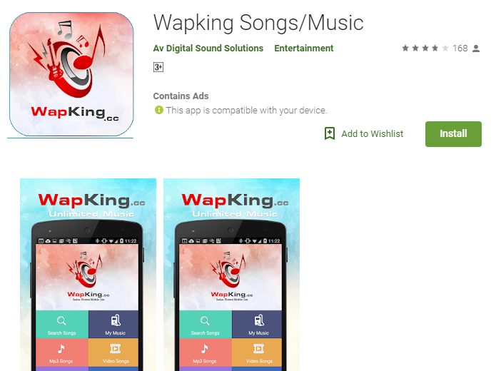 Wapking – Easily Download All Songs Using This Smart Android App