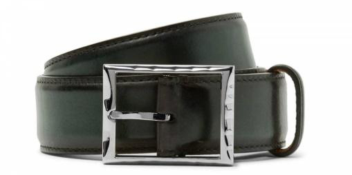 Berluti classic leather belt