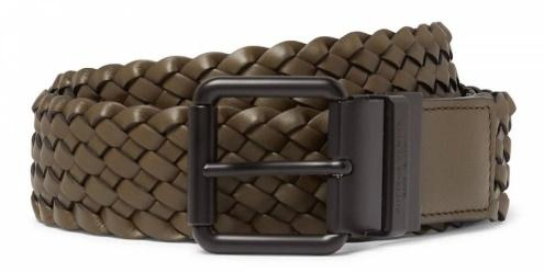Bottega Venetta intrecciato leather belt