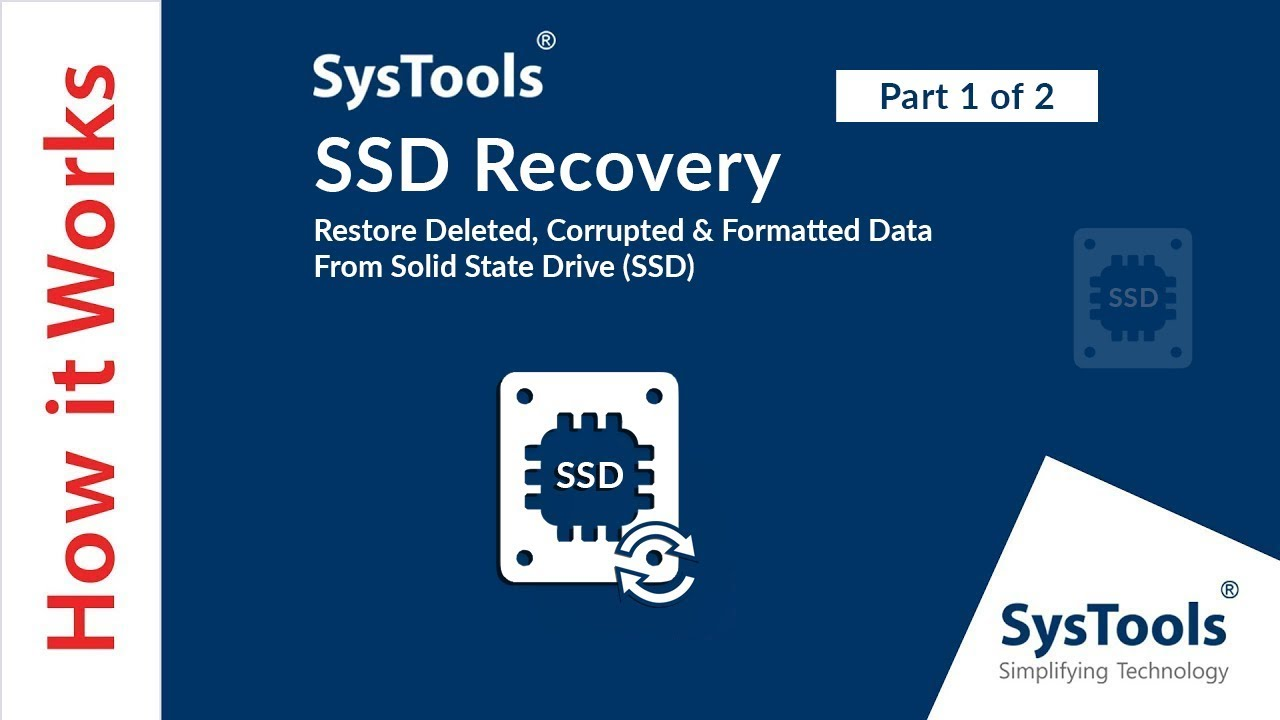 How to Recover Lost Data From SSD (Solid State Drive) Without Hassle?