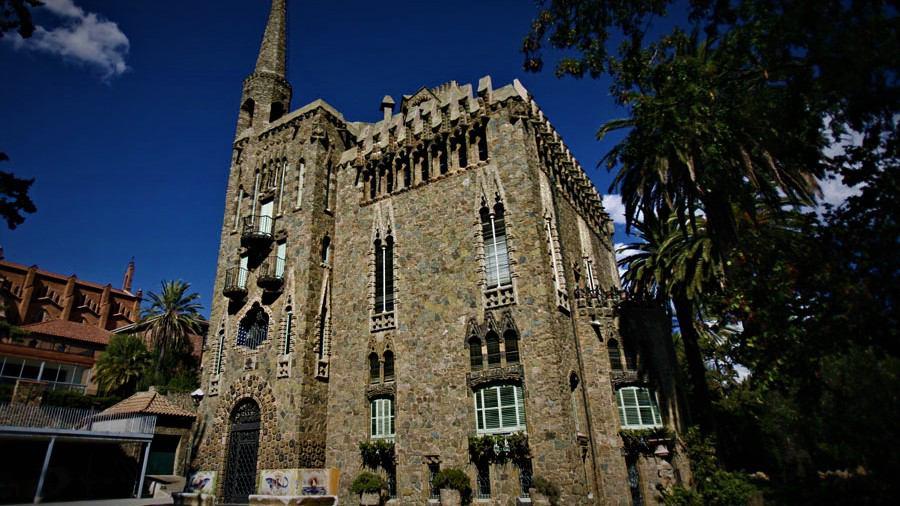 The Torre Bellesguard (or Casa Figueras)