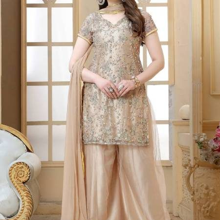 TRENDING SHARARA STYLES THAT YOU CAN WEAR ON WEDDING OCCASION
