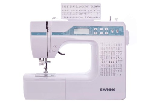 Electronic Sewing and Quilting Machine with 200