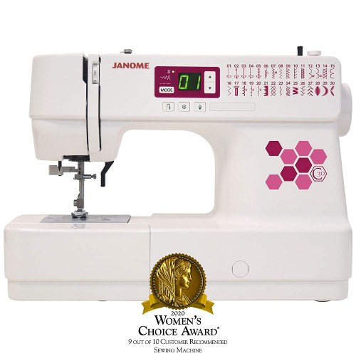 Janome C30 Sewing Machine, White