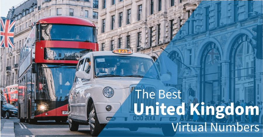 Best 5 UK Virtual Phone Number Provider in 2020