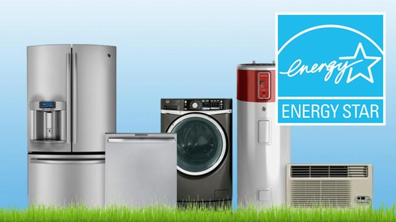 Buy Energy Star rated appliances