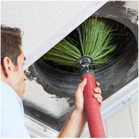 Cleaning air system